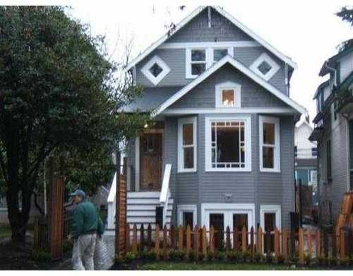 Main Photo: 116 11TH Ave in Vancouver West: Mount Pleasant VW Home for sale ()  : MLS®# V682782