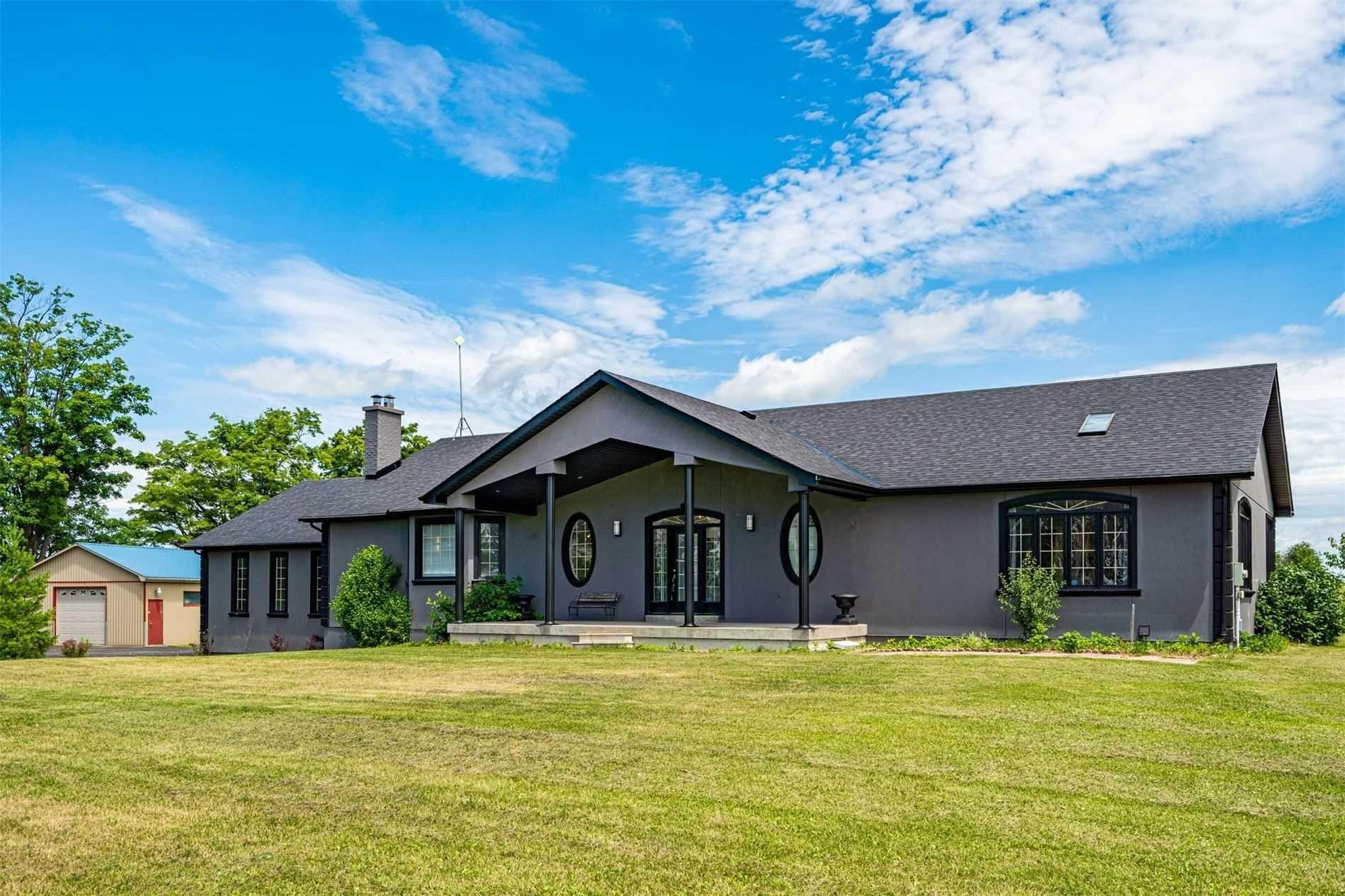 Main Photo: 232319 Trafalgar Road in East Garafraxa: Rural East Garafraxa House (Bungalow) for sale : MLS®# X4840979