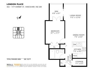"""Photo 17: 302 1177 HORNBY Street in Vancouver: Downtown VW Condo for sale in """"LONDON PLACE"""" (Vancouver West)  : MLS®# R2237119"""