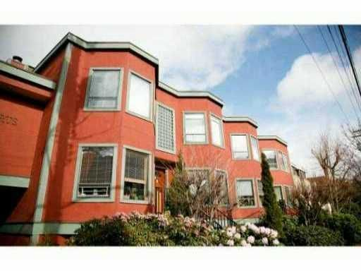 Main Photo: 8 1081 West 8th Avenue in Vancouver: Fairview VW Townhouse for sale (Vancouver West)  : MLS®# V987588