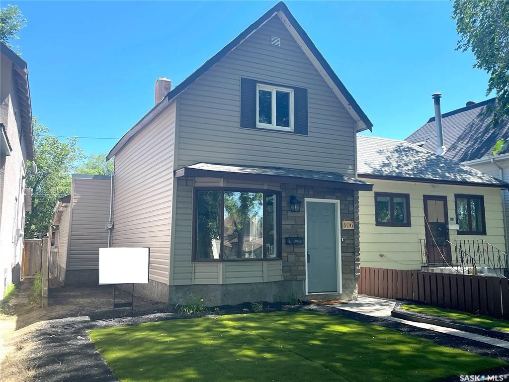 Main Photo: 406 I Avenue North in Saskatoon: Westmount Residential for sale : MLS®# SK860537