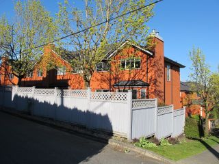 Photo 3: 103 303 CUMBERLAND Street in New Westminster: Sapperton Townhouse for sale : MLS®# R2053717