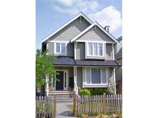 Photo 1: 1031 E 13TH Avenue in Vancouver: Mount Pleasant VE 1/2 Duplex for sale (Vancouver East)  : MLS®# V930003