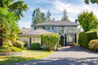 Photo 1: 13419 MARINE Drive in Surrey: Crescent Bch Ocean Pk. House for sale (South Surrey White Rock)  : MLS®# R2492166