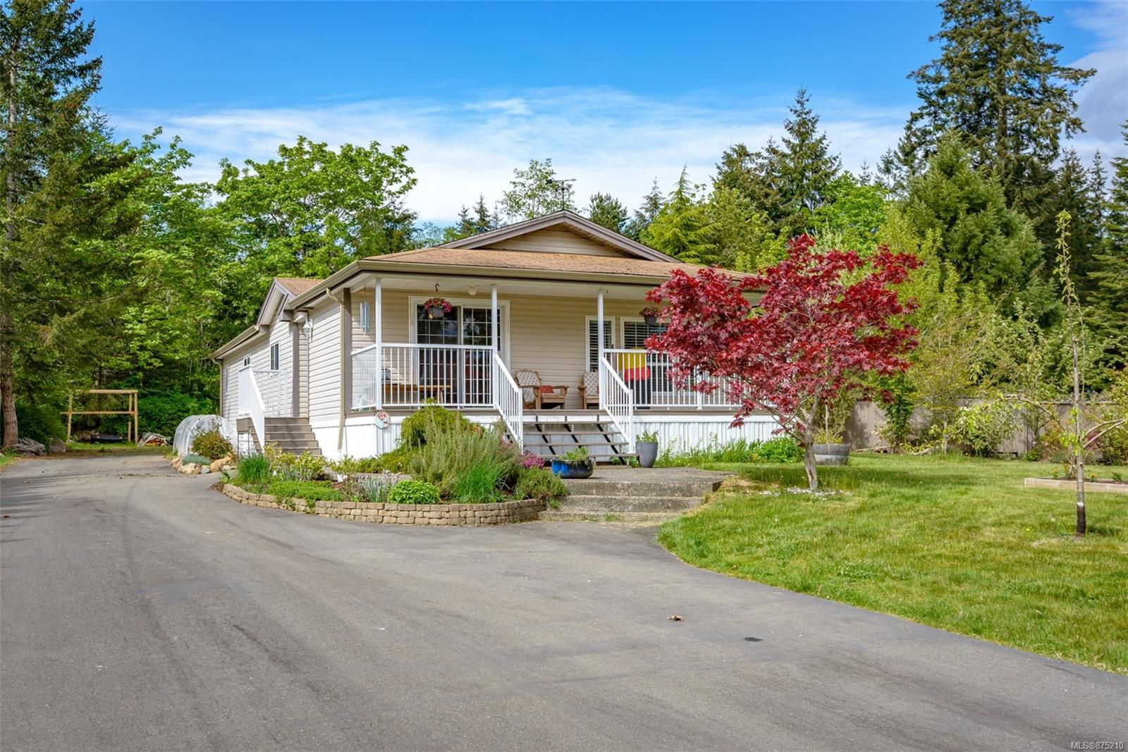 Main Photo: 6619 Mystery Beach Rd in : CV Union Bay/Fanny Bay Manufactured Home for sale (Comox Valley)  : MLS®# 875210