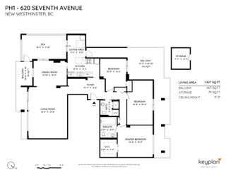 """Photo 2: PH1 620 SEVENTH Avenue in New Westminster: Uptown NW Condo for sale in """"Charter House"""" : MLS®# R2617664"""