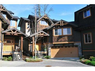 "Photo 1: 31 24185 106B Avenue in Maple Ridge: Albion Townhouse for sale in ""TRAILS EDGE"" : MLS®# V1055374"