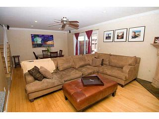Photo 9: PACIFIC BEACH Townhouse for sale : 3 bedrooms : 856 Diamond Street in San Diego