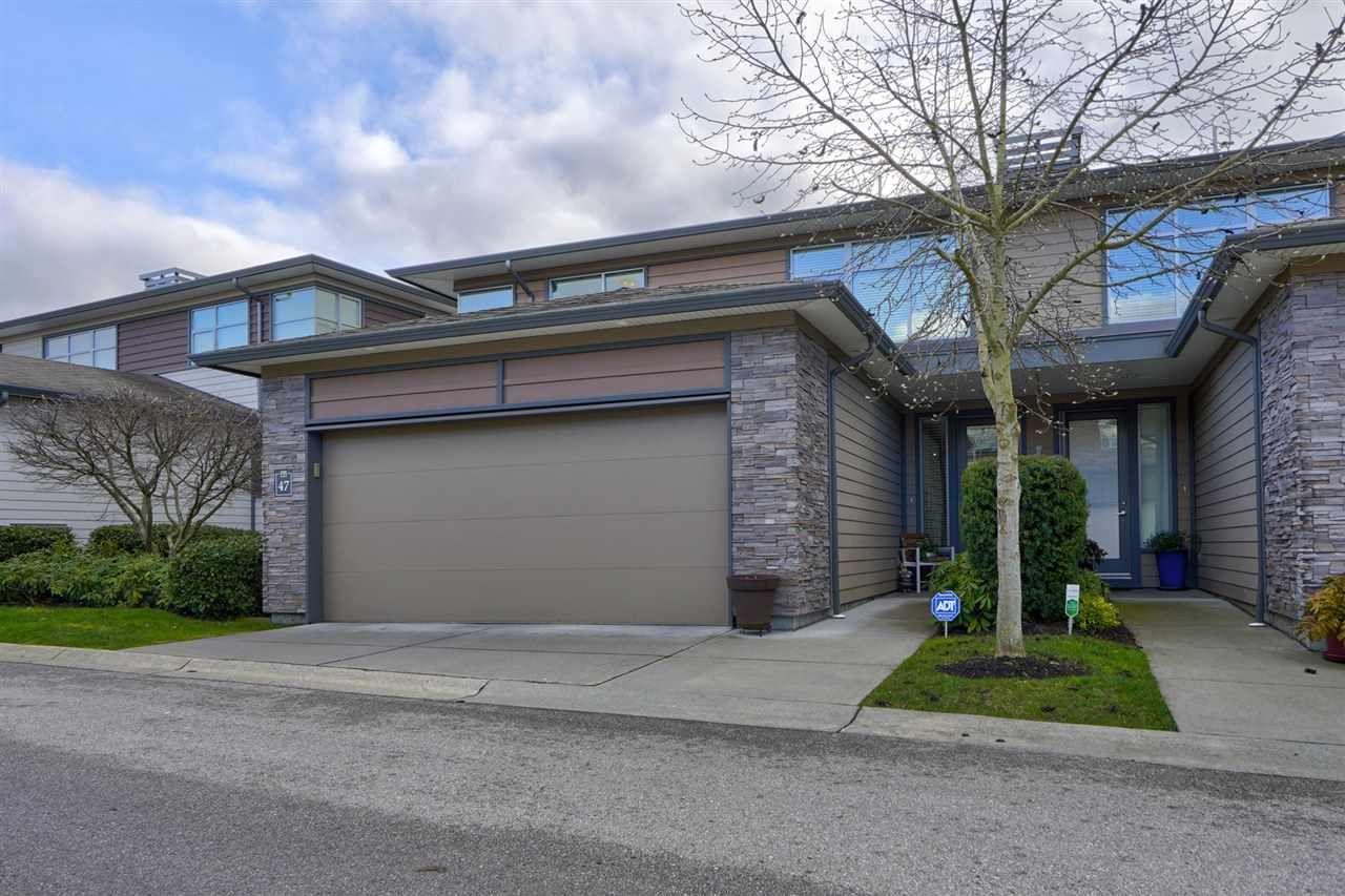 "Main Photo: 47 2603 162 Street in Surrey: Grandview Surrey Townhouse for sale in ""Vinterra"" (South Surrey White Rock)  : MLS®# R2432189"