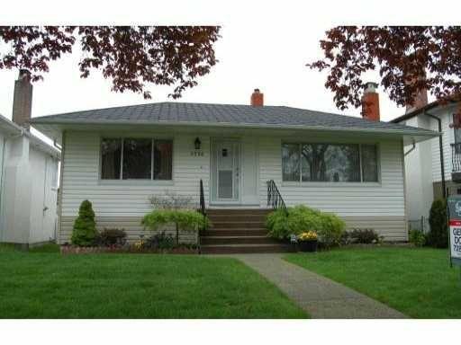 Main Photo: 6598 BROOKS Street in Vancouver: Killarney VE House for sale (Vancouver East)  : MLS®# V825087