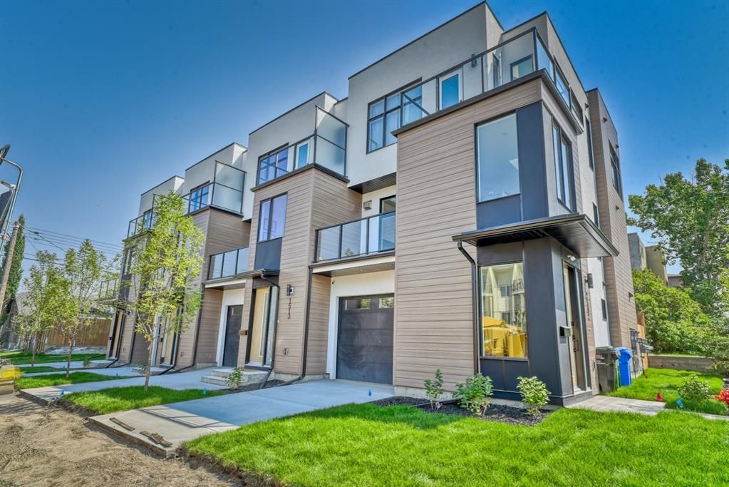 Main Photo: 1513 24 Avenue SW in Calgary: Bankview Row/Townhouse for sale : MLS®# A1129630