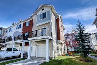 Main Photo: 336 Silverado Common SW in Calgary: Silverado Row/Townhouse for sale : MLS®# A1155498