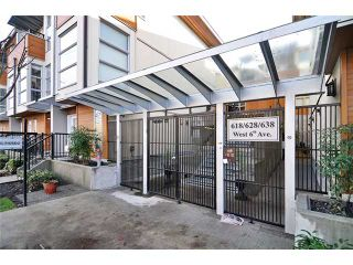 Photo 20: 29 638 W 6TH Avenue in Vancouver: Fairview VW Townhouse for sale (Vancouver West)  : MLS®# V1039662