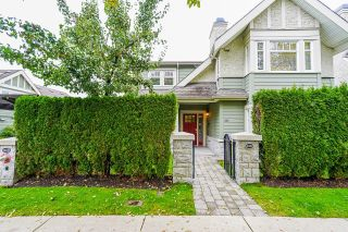 """Main Photo: 2462 SASAMAT Street in Vancouver: Point Grey Townhouse for sale in """"Sasamat Gardens"""" (Vancouver West)  : MLS®# R2628313"""