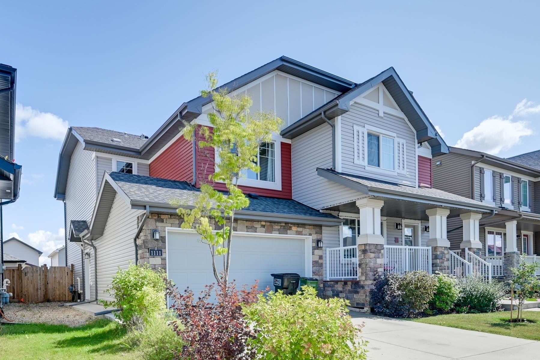 Main Photo: 1111 162 Street in Edmonton: Zone 56 House Half Duplex for sale : MLS®# E4260240