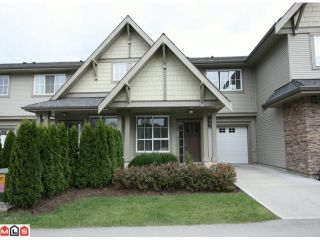 """Photo 1: 239 2501 161A Street in Surrey: Grandview Surrey Townhouse for sale in """"HIGHLAND PARK"""" (South Surrey White Rock)  : MLS®# F1025266"""