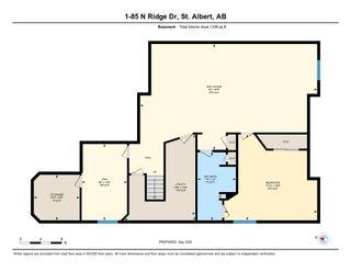 Photo 50: 1 85 NORTH RIDGE Drive: St. Albert House Half Duplex for sale : MLS®# E4226226