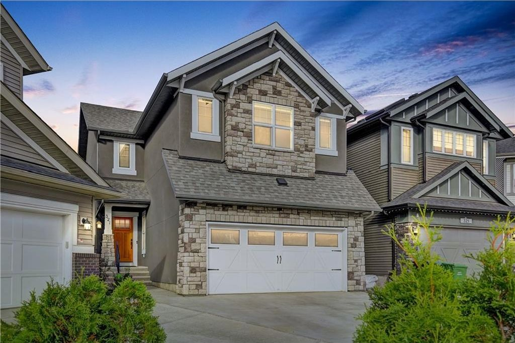 Main Photo: 321 CHAPARRAL VALLEY Mews SE in Calgary: Chaparral House for sale : MLS®# C4138135