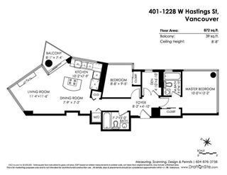 """Photo 20: 401 1228 W HASTINGS Street in Vancouver: Coal Harbour Condo for sale in """"PALLADIO"""" (Vancouver West)  : MLS®# R2258728"""