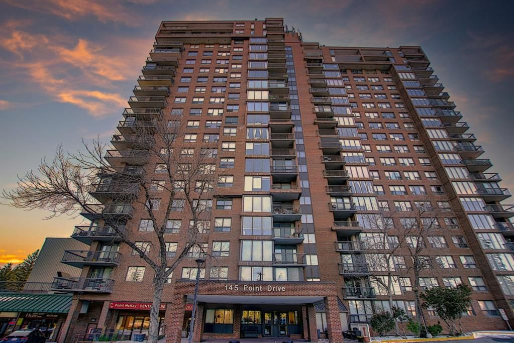 Main Photo: 502 145 Point Drive NW in Calgary: Point McKay Apartment for sale : MLS®# A1070132