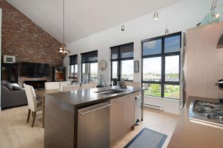 """Photo 10: 401 220 SALTER Street in New Westminster: Queensborough Condo for sale in """"GLASSHOUSE LOFTS"""" : MLS®# R2159431"""