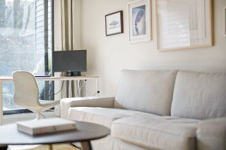 "Photo 3: 102 1422 E 3RD Avenue in Vancouver: Grandview Woodland Condo for sale in ""La Contessa"" (Vancouver East)  : MLS®# R2540090"