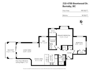 """Photo 31: 210 4799 BRENTWOOD Drive in Burnaby: Brentwood Park Condo for sale in """"THOMPSON HOUSE"""" (Burnaby North)  : MLS®# R2625742"""