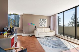 """Photo 2: 908 4105 MAYWOOD Street in Burnaby: Metrotown Condo for sale in """"Time Square"""" (Burnaby South)  : MLS®# R2570116"""