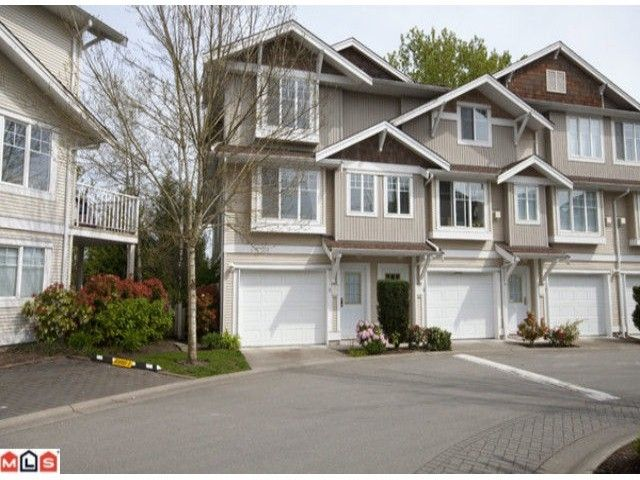 "Main Photo: 5-12110 75A AVE in SURREY BC: Queen Mary Park Surrey Townhouse  in ""MANDALAY VILLAGE"" (Surrey)  : MLS®# F1010789"