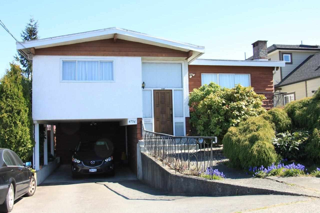 Main Photo: 4756 SMITH Avenue in Burnaby: Central Park BS House for sale (Burnaby South)  : MLS®# R2591512