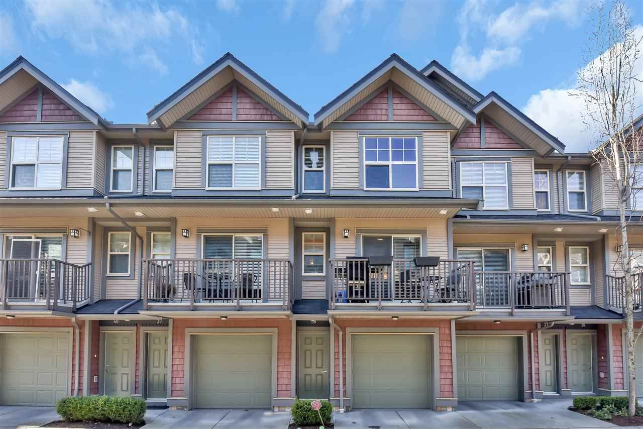 Main Photo: 38 7121 192 Street in Surrey: Clayton Townhouse for sale (Cloverdale)  : MLS®# R2540218