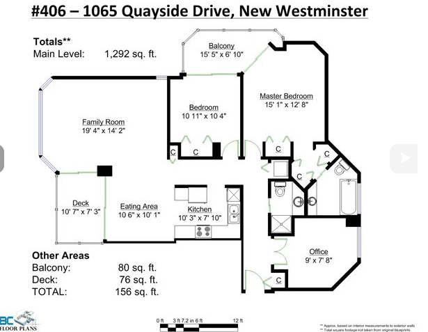 Main Photo: 406 1065 Quayside Drive in New Westminister: Quay Condo for sale (New Westminster)  : MLS®# v1122954