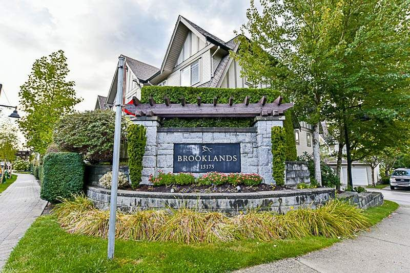 "Main Photo: 74 15175 62A Avenue in Surrey: Sullivan Station Townhouse for sale in ""Brooklands"" : MLS®# R2207663"
