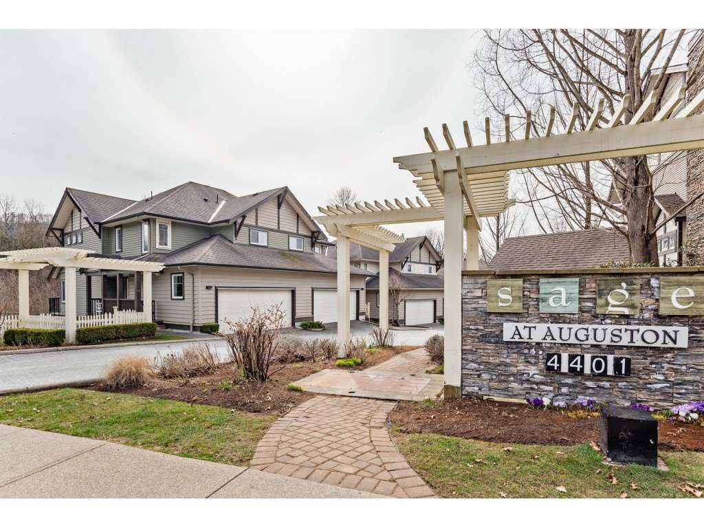 """Main Photo: 42 4401 BLAUSON Boulevard in Abbotsford: Abbotsford East Townhouse for sale in """"The Sage"""" : MLS®# R2554193"""