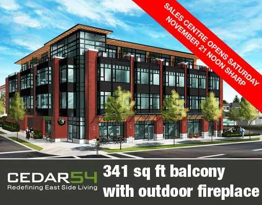"""Main Photo: 202 2008 E 54TH Avenue in Vancouver: Fraserview VE Condo for sale in """"CEDAR 54"""" (Vancouver East)  : MLS®# V798577"""