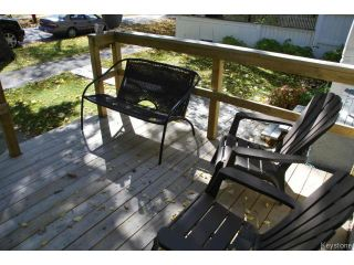 Photo 4: 317 Arnold Avenue in WINNIPEG: Manitoba Other Residential for sale : MLS®# 1321742