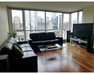 Photo 2: 1603 - 1188 Richards Street in Vancouver: Yaletown Condo for sale (Vancouver West)  : MLS®# V1000322