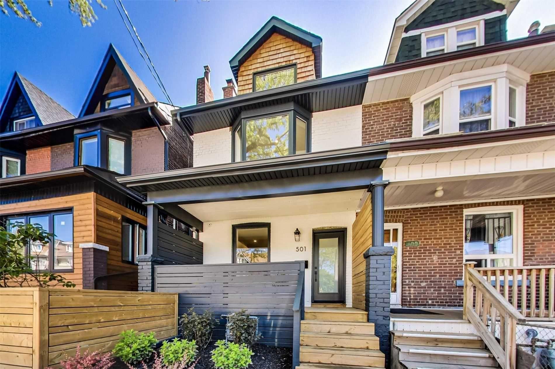 Main Photo: 501A Carlaw Avenue in Toronto: South Riverdale House (2 1/2 Storey) for lease (Toronto E01)  : MLS®# E4800675