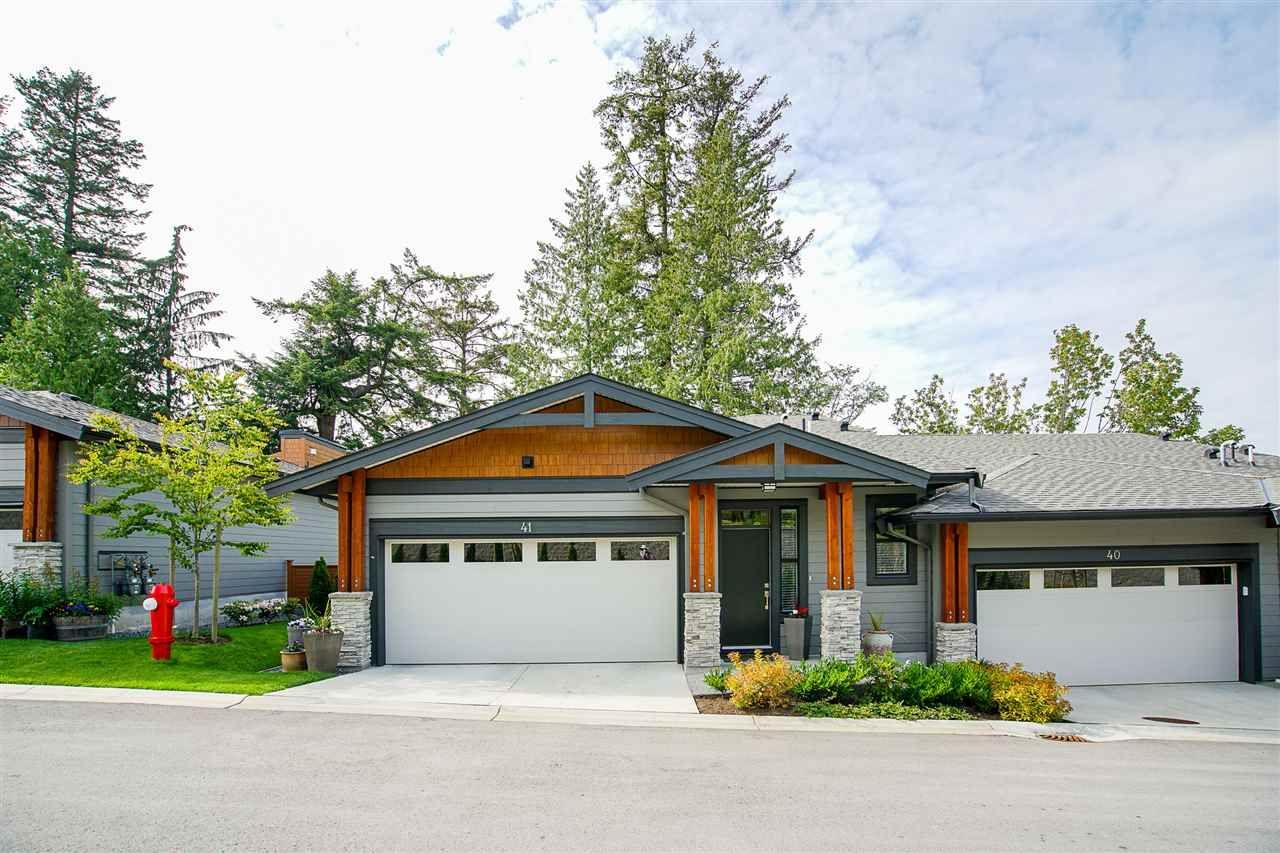 "Main Photo: 41 3618 150 Street in Surrey: Morgan Creek Townhouse for sale in ""Viridian"" (South Surrey White Rock)  : MLS®# R2458172"
