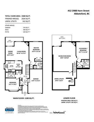 """Photo 23: 12 2988 HORN Street in Abbotsford: Central Abbotsford Townhouse for sale in """"CREEKSIDE PARK"""" : MLS®# R2590277"""