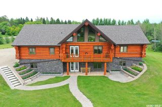 Main Photo: Saskatoon Log Home Acreage in Vanscoy: Residential for sale (Vanscoy Rm No. 345)  : MLS®# SK849507