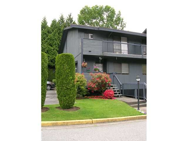"""Main Photo: 3853 PENTLAND Court in Burnaby: Government Road Townhouse for sale in """"WILTSHIRE VILLAGE"""" (Burnaby North)  : MLS®# V836688"""