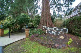 """Photo 1: 210 1385 DRAYCOTT Road in North Vancouver: Lynn Valley Condo for sale in """"Brookwood North"""" : MLS®# R2147746"""
