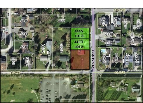 """Main Photo: 4433 216 Street in Langley: Murrayville Land for sale in """"Murrayville"""" : MLS®# R2256404"""