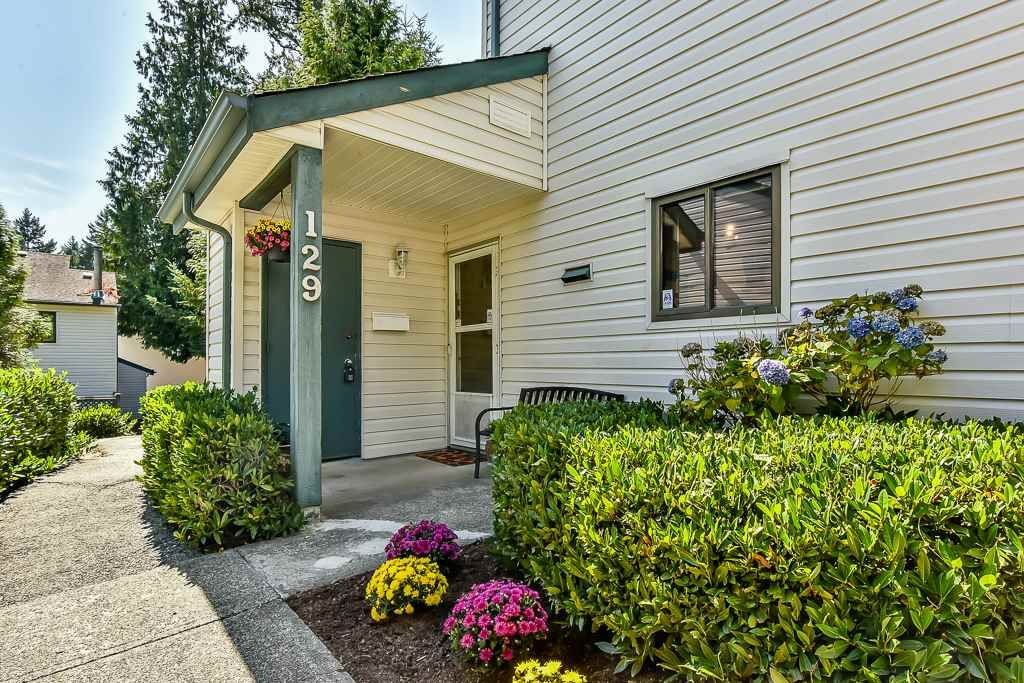"""Main Photo: 129 13710 67 Avenue in Surrey: East Newton Townhouse for sale in """"Hyland Creek Estates"""" : MLS®# R2197033"""