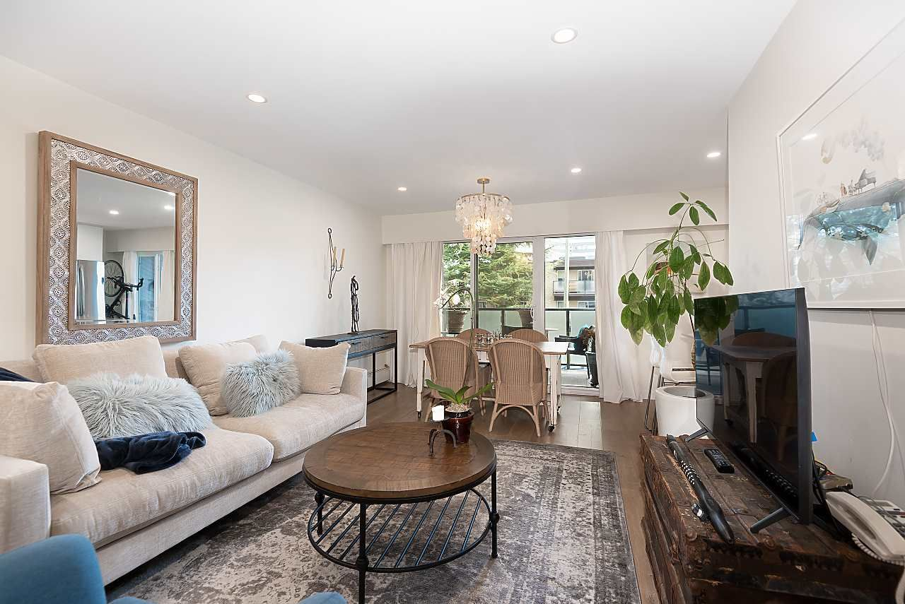 Photo 3: Photos: 207 1425 CYPRESS Street in Vancouver: Kitsilano Condo for sale (Vancouver West)  : MLS®# R2538226