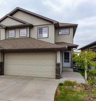 Photo 1: 15939 132 Street in Edmonton: Zone 27 House Half Duplex for sale : MLS®# E4245488