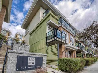 """Main Photo: 9 728 W 14TH Street in North Vancouver: Mosquito Creek Townhouse for sale in """"NOMA"""" : MLS®# R2550078"""