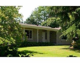 """Photo 1: 2650 WESTHAM ISLAND Road in Ladner: Westham Island House for sale in """"WESTHAM ISLAND"""" : MLS®# V637983"""