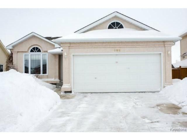 Photo 1: Photos: 588 BAIRDMORE Boulevard in WINNIPEG: Richmond West Residential for sale (South Winnipeg)  : MLS®# 1404598